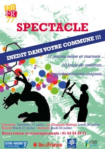 affiche spectacle colo