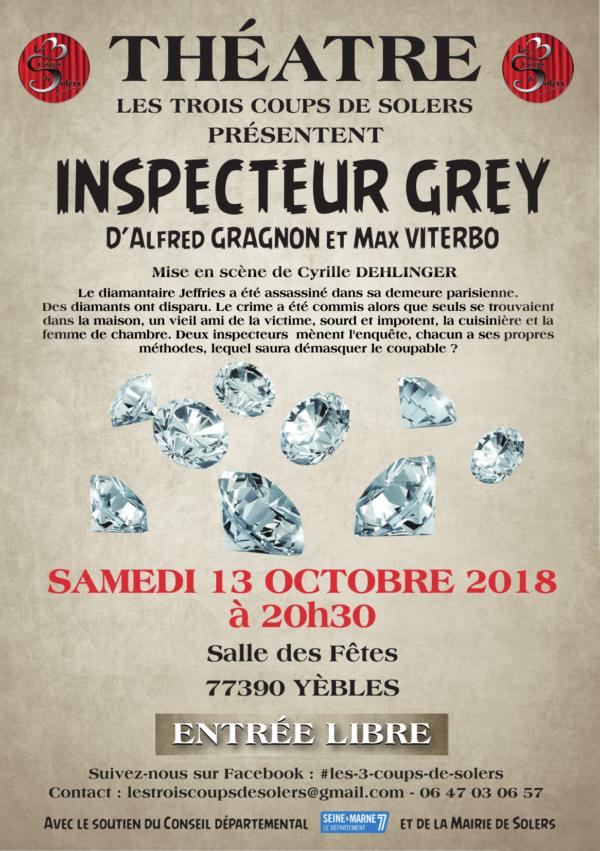 Inspecteur Grey - Pièce Policière