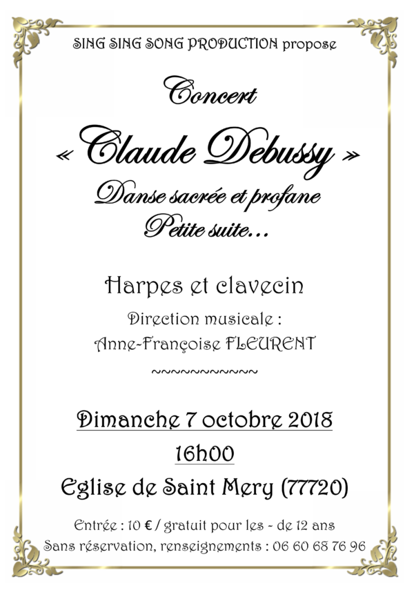 "Concert ""Claude Debussy"""
