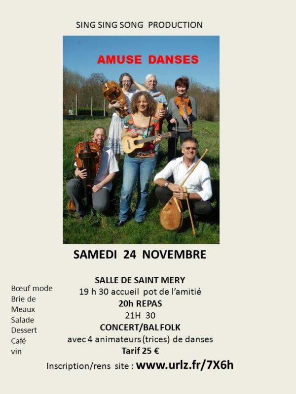 Soirée Folk / Bal et Concert !