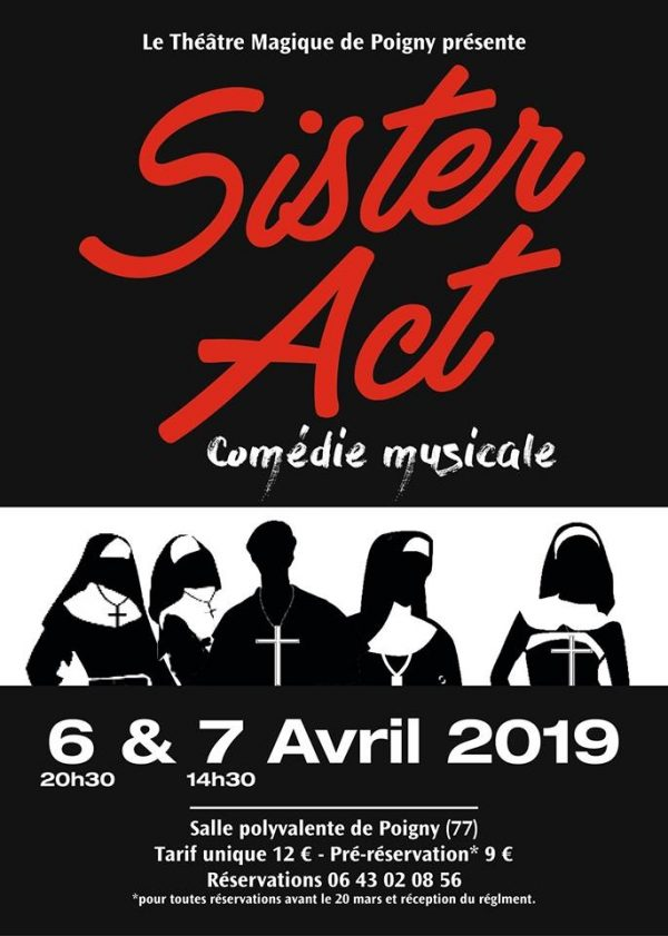 """Sister Act"" Comédie musicale"