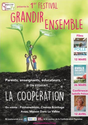 """Festival """"Grandir Ensemble"""" : Et si on essayait... la coopération !"""