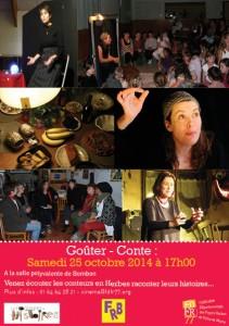 Flyer invitation public conte Tousson