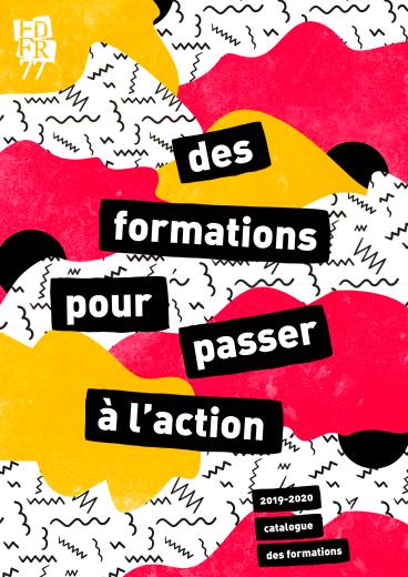 Le catalogue des formations de la FDFR77, saison 2019-2020
