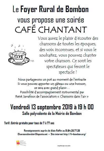 Café Chantant !
