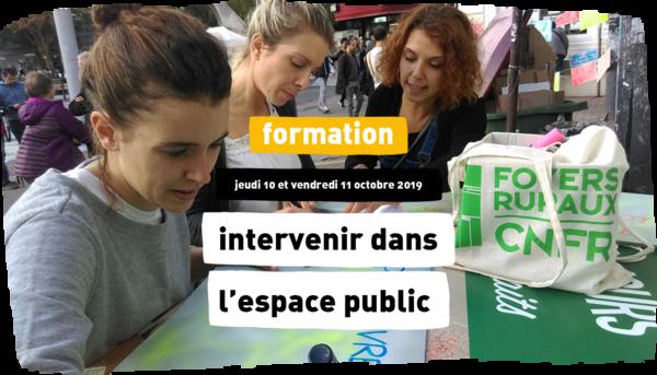 Intervenir dans l'espace public