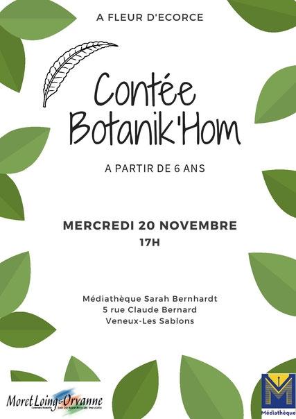 Conférence contée Botanik'hom