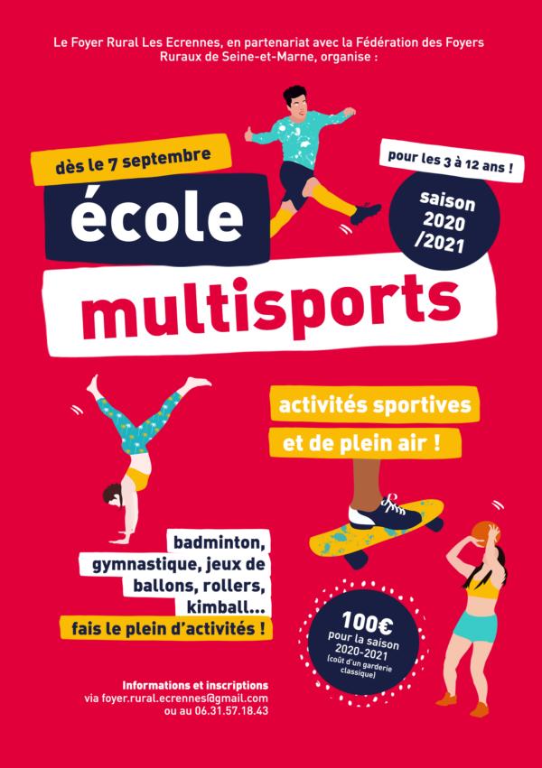 Ecole multisports : la reprise !