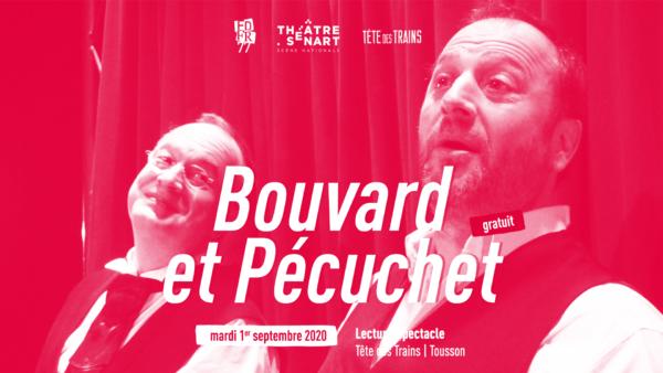 Théâtre : Bouvard et Pécuchet à Tousson