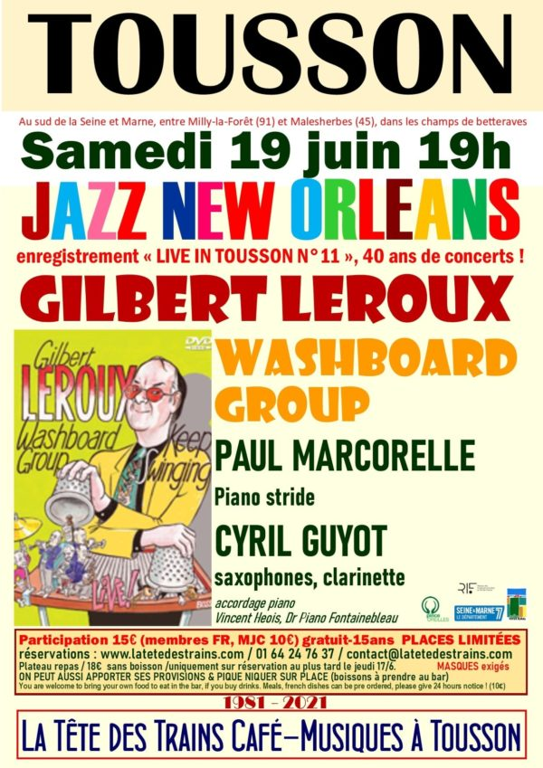 GILBERT LEROUX washboard group